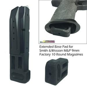 M&P 9mm Extended Mag Base for 10 Round Magazine